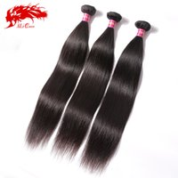Cheap Natural Color Ali Queen hair Best 95-100g/pc Straight malaysian straight hair