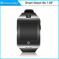 apple weather - Smart Watch i8s Bluetooth quot MTK2502 with Compass weather forecast support SIM TF Card for ios android Smartphone Watch new
