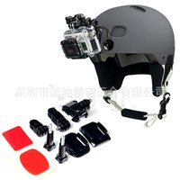 Wholesale gopro accessories helmet helmet side shot side shot suit suit Hero3 bracket
