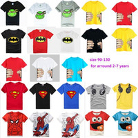 Summer animal t shirts - Retail Brand Children s blouse T shirt Kids Baby boys Clothing tshirts Summer Clothes Cartoon Dinosaur Car