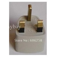Wholesale DHL for Universal Travel Power Plug to UK AC Plug adapter prong electrical plug