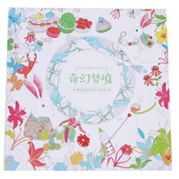 Wholesale Funny For Children Adult Relieve Stress Painting Drawing Book Pages Secret Garden Inky Treasure Hunt Coloring Book IC874021