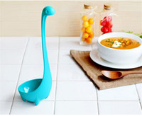 Wholesale Cartoon nylon Nessie tablespoon creative soup spoon kitchen supplies household goods decoration