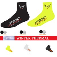 Wholesale pro ciclismo overshoes ktm winter thermal fleece cycling shoes cover mtb felt copriscarpe ciclismo some can