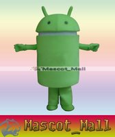 android themes - MALL367 Custom Customized Android Robot Mascot Costumes Costume Cartoon Clothing Cartoon Theme Carnival Costumes Dolls Adult Carnival Party