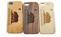 wood - Eco friendly wood Cases wooden case for iphone c iphone plus S7 S6 original ecology bamboo wood cover Shockproof Hard wood phone shell