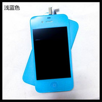 Wholesale 2014 Rushed New By Dhl for Iphone g s Color Display Touch Screen with Digitizer Home Button Frame Assembly Lcd