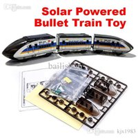 plastic model kits - New Educational Solar Powered DIY Bullet Train Kit hv3n