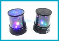 Wholesale Hot sell Colorful cosmos stars laser LED projector Star Projector Lamp LED Night light lantern romantic lover stars kiss style for option