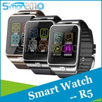 best email systems - R5 Smart Watch Bluetooth WristWatch LED screen the st kinds smartwatch for IOS Andriod system phone compatibility with best wearable chip