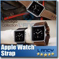 lunatik - 2015 newest Apple Watch bracelet Watchband Strap lunatik Leather Classic Buckle mm mm Watch Band Strap for Apple Watch retailbox DHL
