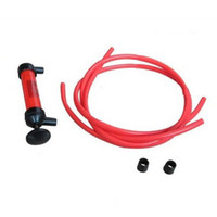 auto fuel injection - Auto Car Multi Use Water Oil Fuel Pump Transfer Liquid Pipe Siphon Tool Pump Kit hot selling