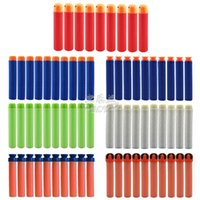Wholesale 50 Nerf N strike Elite Rampage Retaliator Series Blasters Refill Clip Darts soft nerf bullet More Colors