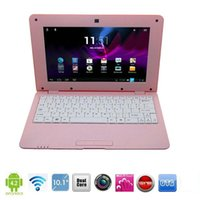 Wholesale 10 quot inch Android Dual core Cortex A9 Webcam Wifi Mini Notebook Laptop HDMI XB10