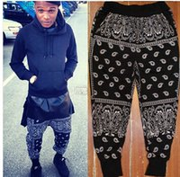 Wholesale 2015 Fashion harem pants Street West Hiphop Cashers Male dancing Casual Health Pants sports Men Bandana Mens Pants dance Trousers joggers
