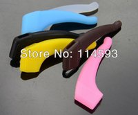 Wholesale 6 colors eyeglass ear hook eyewear glasses silicone temple tip holder