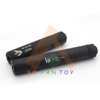airsoft gun - Tactical Aluminum Alloy Gun Muffler Silencer Tube Suppressor Silencer for Airsoft Long Short