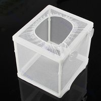 Wholesale Fish Tank Hatchery Partitions Aquarium Breeding Breeder Soft Net Suction Cups