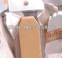 Wholesale Kraft paper Hang Tags Merchandise Tags Price Tags cmx9cm