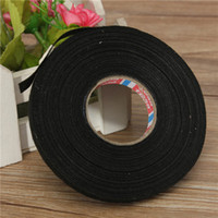 Wholesale Brand New Car Wiring Loom Harness Adhesive Cloth Fabric Tape Cable Loom mm x M Black order lt no tracking