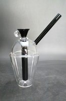 Glass bongs - Black Oil rigs Glass bongs water pipes Glass cup dabuccino oil rigs with mm joint
