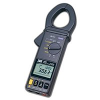 Wholesale True RMS AC DC Power Clamp Meter V A Frequency Power Factor Measurement Data Logger TES
