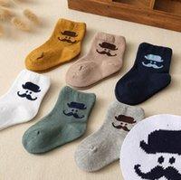 beard patterns - baby Girls cute beard pattern socks infant boy girl colors size Socks kids fashion socks Ground Pattern pairs set rk45345