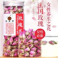 beauty care food - France Rose tea skin care Fragrant Flower Tea rose buds food beauty whitening Health Natural Herbal Flower Tea g