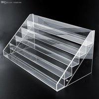 acrylic counter display cases - Tier Clear Acrylic Display Stand Large Rack Organizer Nail Polish Makeup case Counter Good Quality