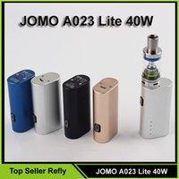 e cig mod - 100 Original Jomo Lite w Jomo watt E cig Box Mod Lite w vapor mod kit ml tank Vaporizer Refly