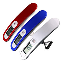 bag weighing scales - KG DIGITAL TRAVEL PORTABLE HANDHELD WEIGHING LUGGAGE SCALES SUITCASE BAG BLUE EG9125