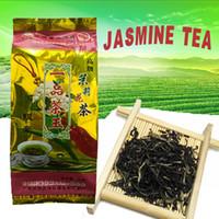 Wholesale 50g China Jasmine green tea China Jasmine tea Guangxi scented tea Yujiang flower tea Silvery tipped tea Health Tea Fragrant