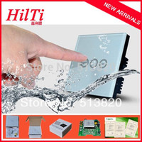 automatic switch timer - China Hilti Smart Home Automatic Timer Switch EU UK Standard Crystal Touch Glass Panel Time Delay Switch Backlight indicator
