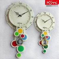 big pendulum - creative wooden pendulum big wall clocks for living room novelty gifts watch michael