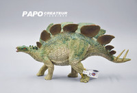 Wholesale France PAPO genuine authentic animal models of Jurassic Park Dinosaurs Stegosaurus CE certification