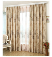 Wholesale The new European environmental shade cloth modern minimalist living room bedroom balcony curtain