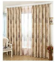 balcony window - The new European environmental shade cloth modern minimalist living room bedroom balcony curtain