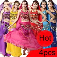 Wholesale 2016 New Set Adult Egypt Egyptian Belly Dance Costume Bollywood Costume Indian Dress Bellydance Wear Womens Belly Dancing Costume