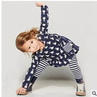 Wholesale Girls clothes dresses for girls long sleeve princess dress cartoon kids clothing for girls Europenan style T T