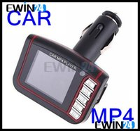 Wholesale 1 quot LCD Car MP4 Player With Remote Control And Button Battery Supports SD Cards