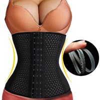 Wholesale Summer Style Corset Underbust Hot Shaper Belt Waist Training Corsets Bustiers Steel Bone Latex Waist Cincher Waist Trainer