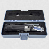 Wholesale RSG ATC Handheld Brix Refractometer Wine Wort Beer Brewing Refractometer Aluminum Sugar Degree Tester W ATC CTY01S K30