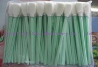 Wholesale 1 bag x cleaning swabs for Roland Mimaki printer head used for solvent and eco solvent printer