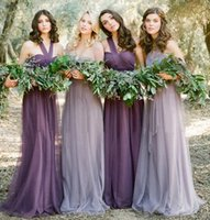 Wholesale 5 piece plus size wedding bridesmaid dresses Evening Dresses cheap for wedding prom dresses party