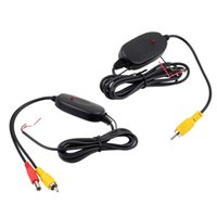 Wholesale 12V G Wireless Transmitter Receiver for Car Reverse Rear View Camera Hot