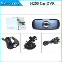 Comercio al por mayor nuevo HD 1080P H200 G1W coche DVR de la rociada del coche DVR videocámara cámara del registrador del tablero de instrumentos de levas completo Negro Box 002779