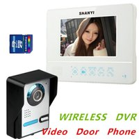 motion pictures - 7 quot Color Wireless Video Door Phone With G SD Card and Pictures Record Picture Motion Detecting To Record