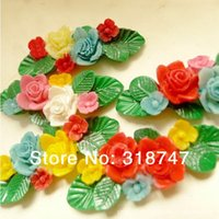 bathroom painting colors - cm Mix Colors Painting Flower Resin Diy Resin Relief Accessories