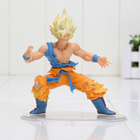 bandai dragonball - 10cm Japanese Bandai Dragonball Dragon ball Z Kai Styling Figurine Super Saiyan Goku Gokou PVC Action Figure Collection Model Toy