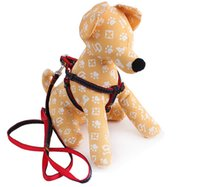 Wholesale Pet supplies nylon sewing cloth cowboy pet chest back dog rope Denim leash
